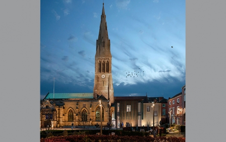 Final submission in for Leicester Cathedral Revealed