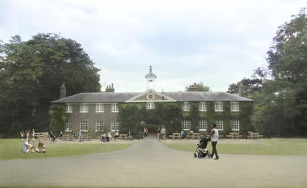 Marble Hill Park & House Representation project