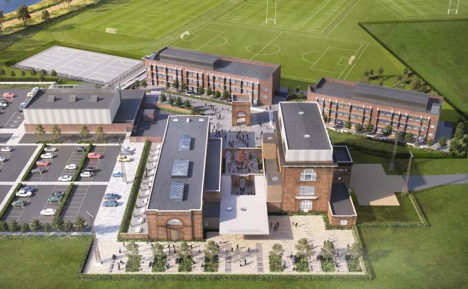 Houlton School opens its doors to first pupils