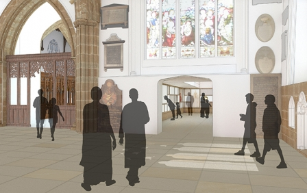 Leicester Cathedral Revealed project awarded £3.3m HLF Funding
