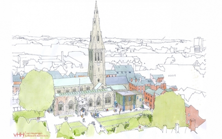£11.3m Leicester Cathedral Revealed project secures full grant