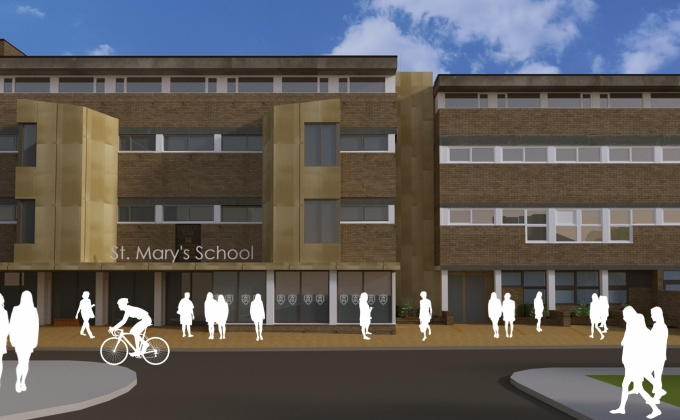 Planning permission for St Mary's School