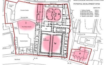 Queen's College Masterplan, Oxford University
