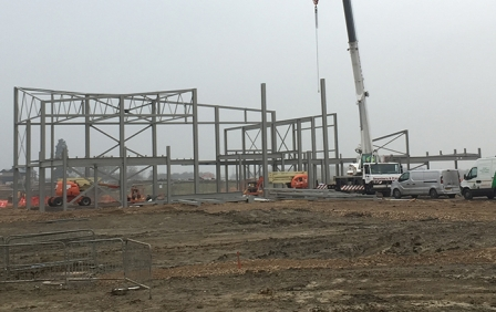 vHH's new primary school has started on site