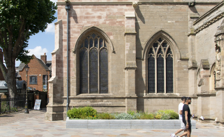 Leicester Cathedral WW1 Stonework Repairs