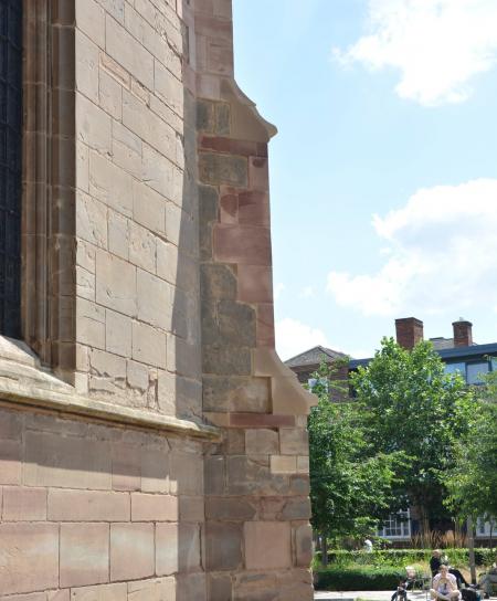 WW1 stonework Leicester